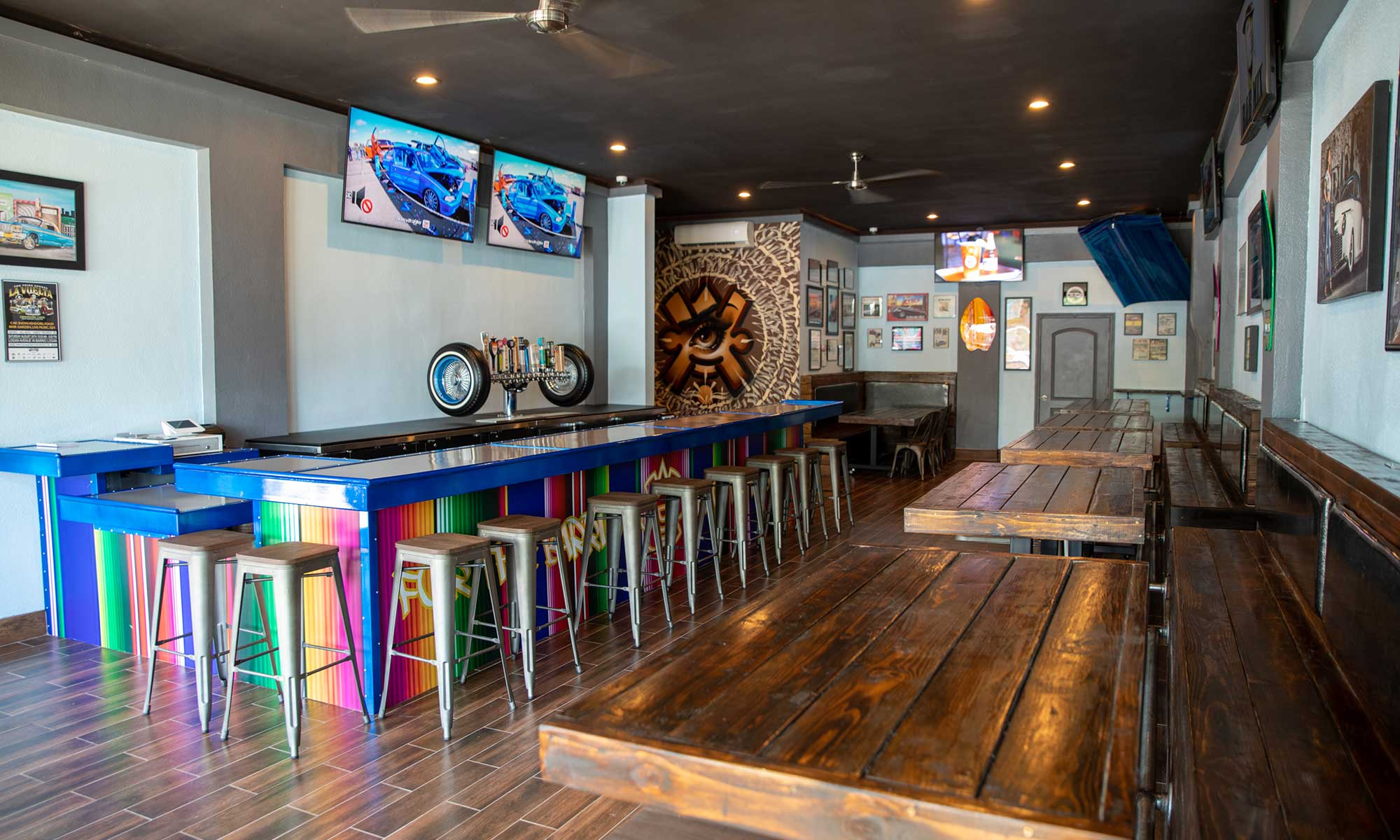 Tap Room at Barrio Dogg